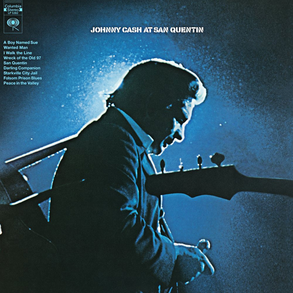 22. Johnny Cash - At San Quentin